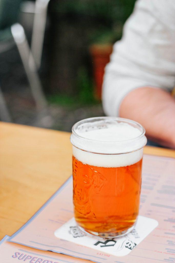 Bier op tafel
