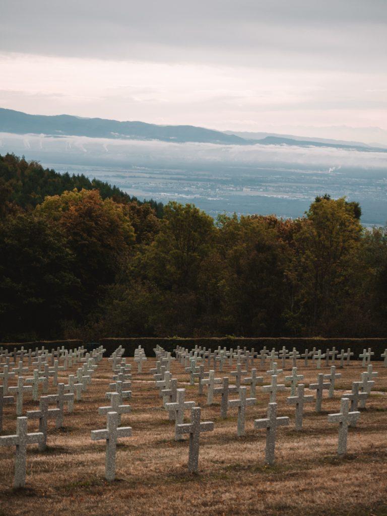 Het kerkhof van Hartmannswillerkopf