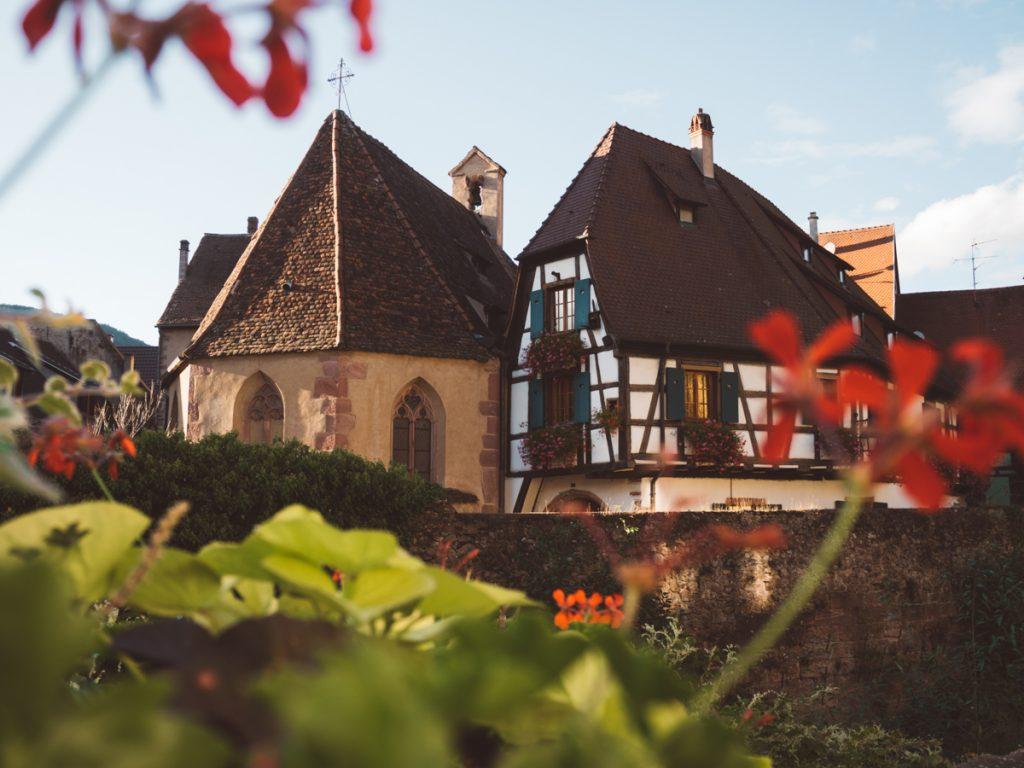 De prachtige huizen van de Kaysersberg