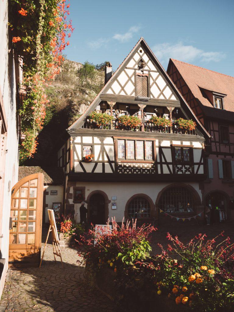 Het prachtige vakwerkdorpje Kaysersberg