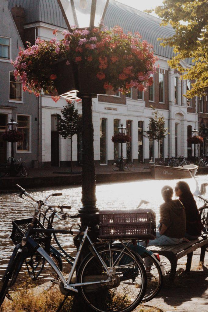 Bezoek Leiden tijdens een zonnige dag
