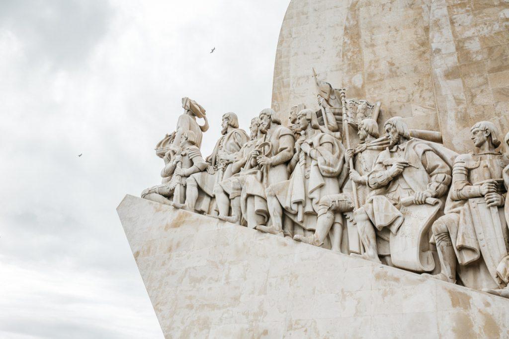 Het monument Padrão dos Descobrimentos