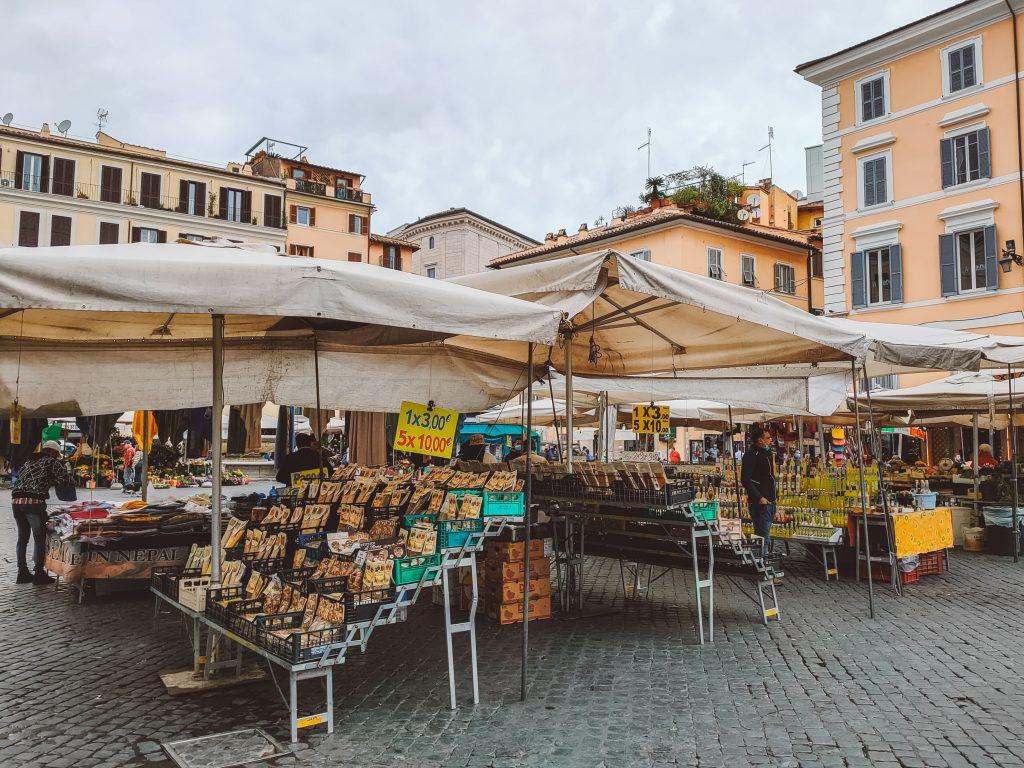 Campo de' Fiori in Rome