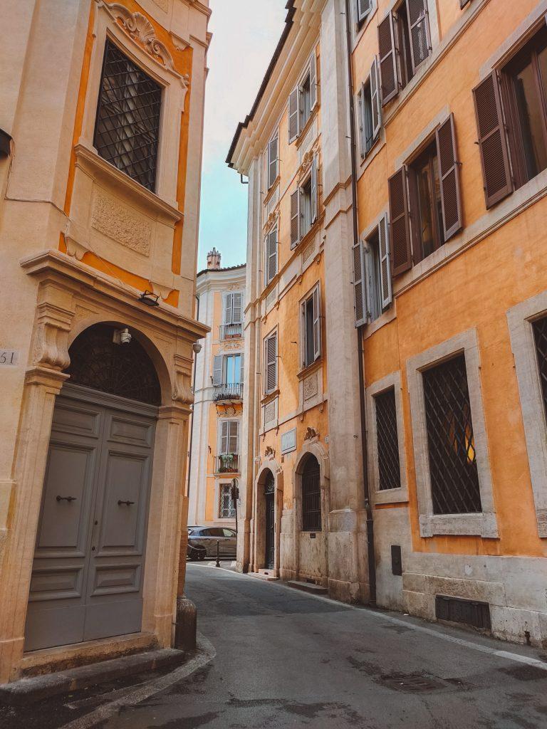 Het leukste om te doen in Rome is struinen door de mooie straatjes