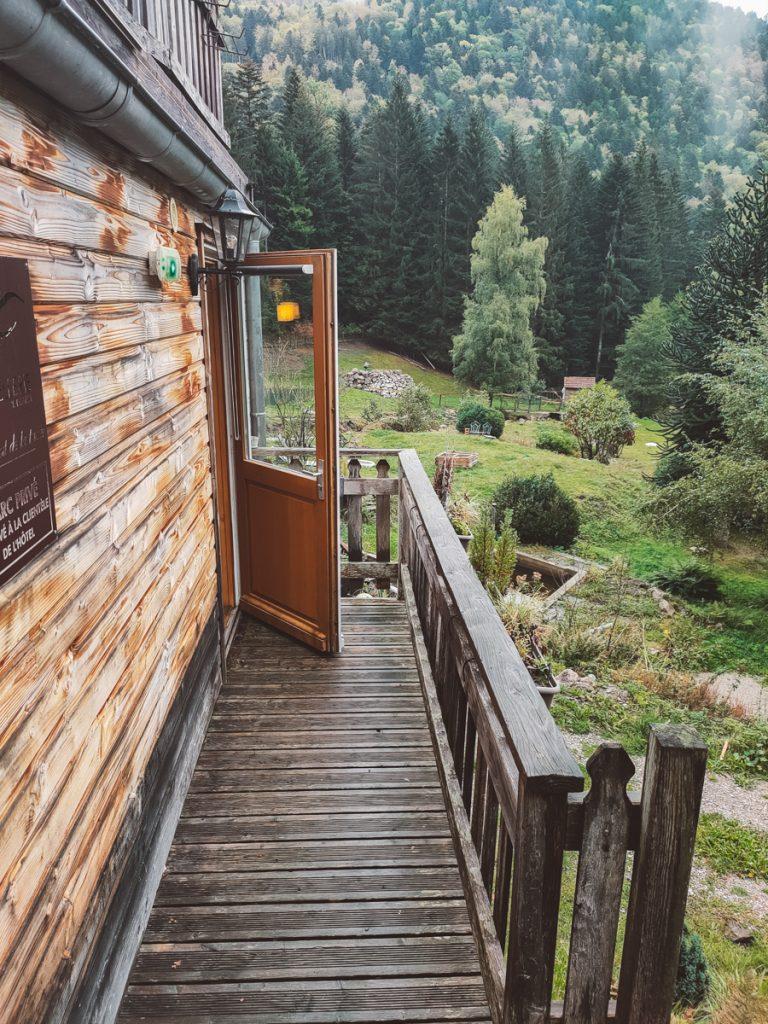Een prachtige accommodatie in de bossen van de Vogezen