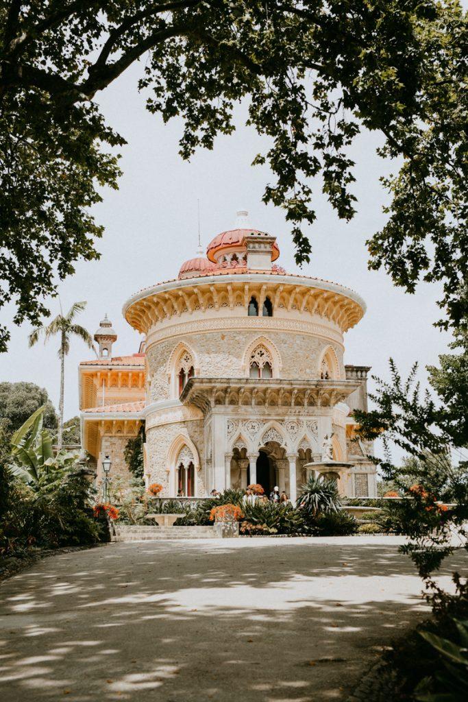 Een van de mooiste kastelen van Sintra nabij Lissabon