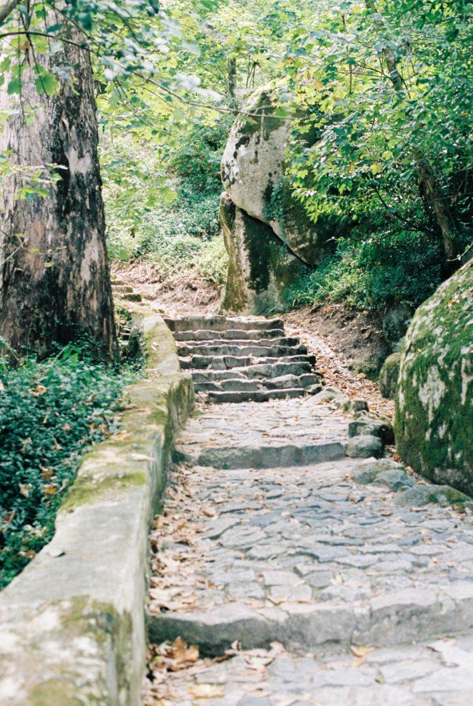 In Sintra vind je een hoop groene parken waar je doorheen kunt wandelen