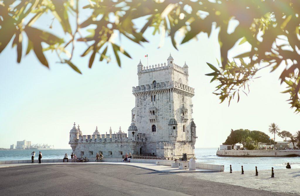 Torre de Belem is een van de belangrijkste bezienswaardigheden in Lissabon