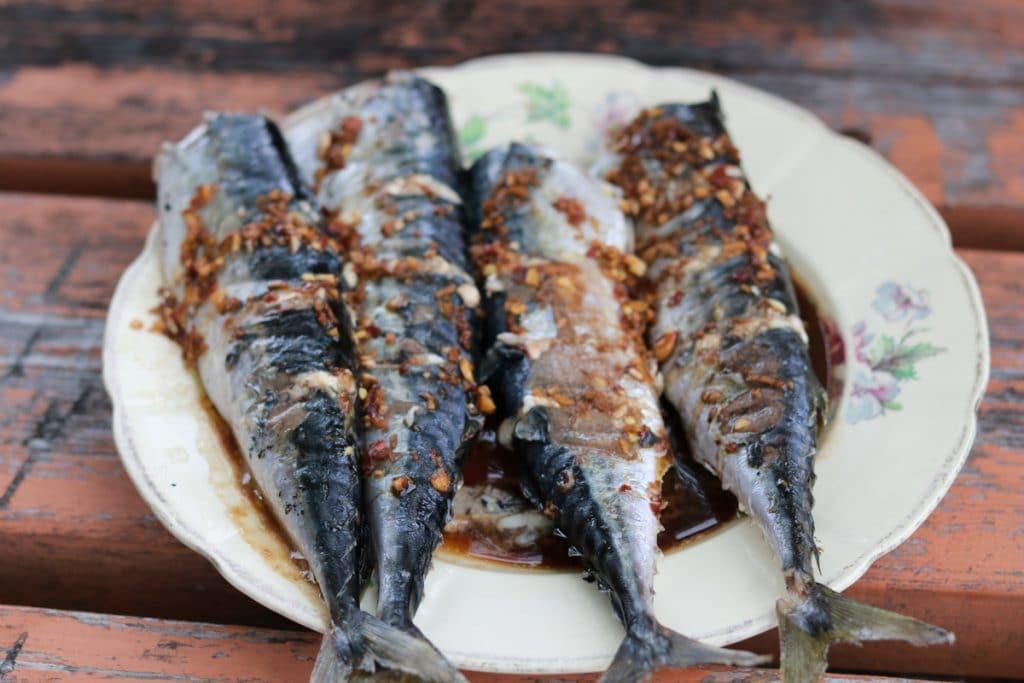 Sardientjes is echt typisch Portugees eten