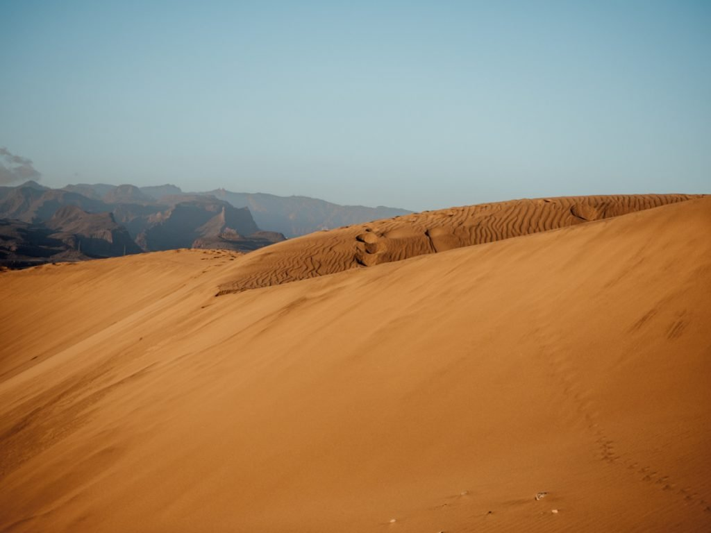 Duinen van Maspalomas op Gran Canaria