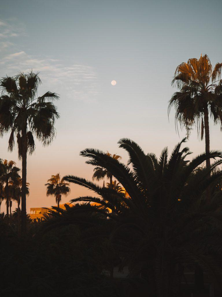 Zonsondergang op Gran Canaria