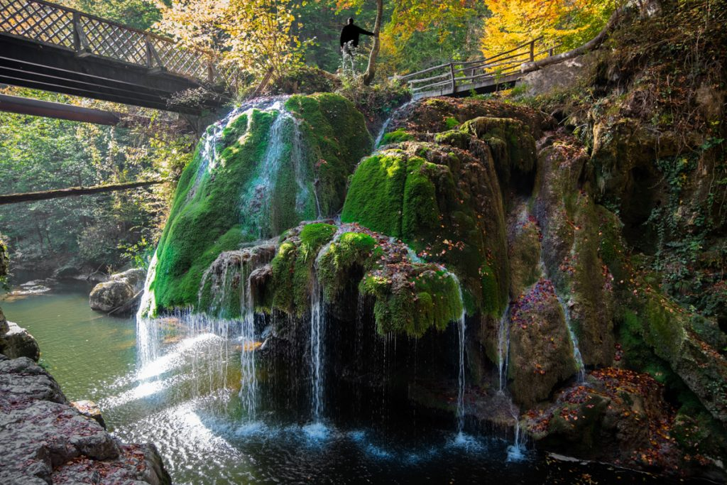 Bigār waterval in Roemenië
