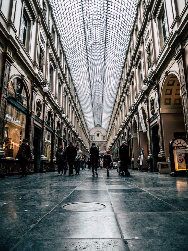 Een van de leukste bezienswaardigheden van Brussel zijn de 19e eeuwse galerijen in het centrum