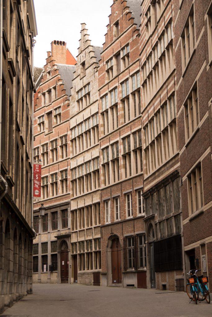 De straten van Antwerpen