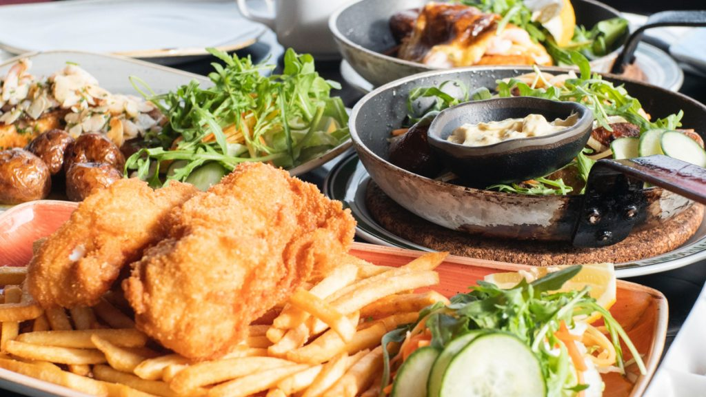 Voor fish en chips moet je bij Bia Mara wezen, een leuke hotspot in Brussel