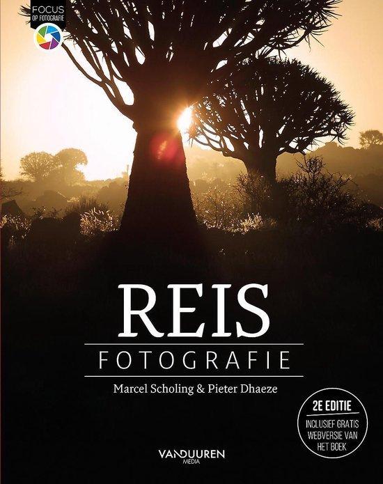 De voorkant van het boek Reisfotografie, een van de beste reisboeken als je beter wilt fotograferen op reis