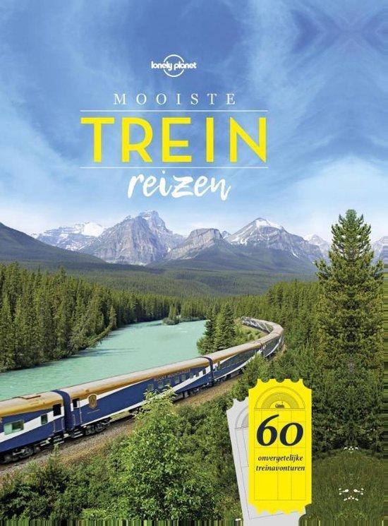 Het boek 'Treinreizen' van de Lonely Planet is een van de beste reisboeken als je houdt van reizen met de trein