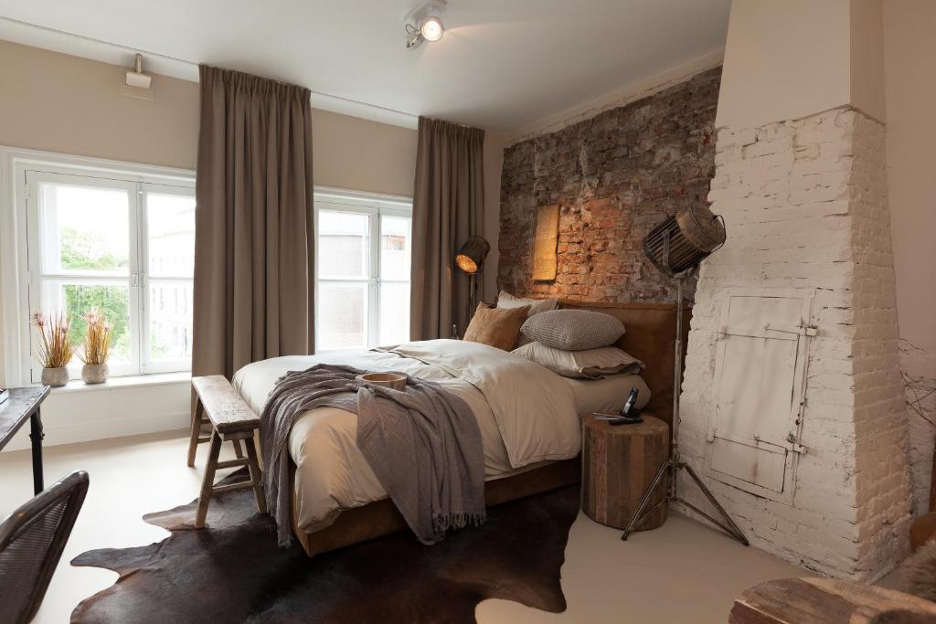 Een hotelkamer van Mother Goose in Utrecht
