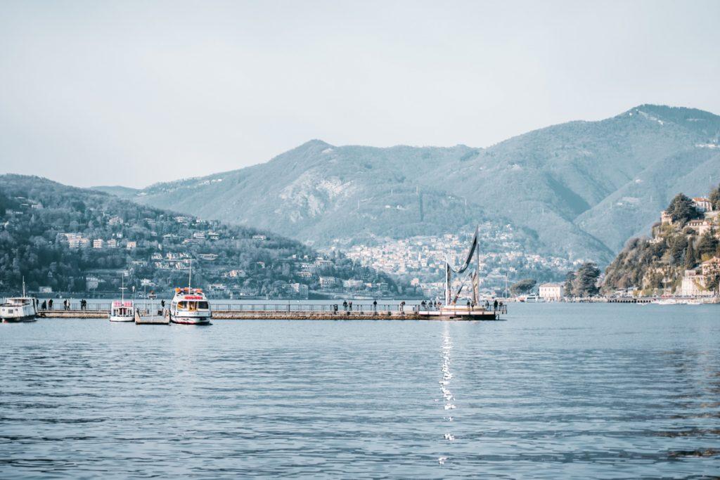 Het Comomeer in Italië behoort absoluut tot een van de mooiste en grootste meren van Europa!