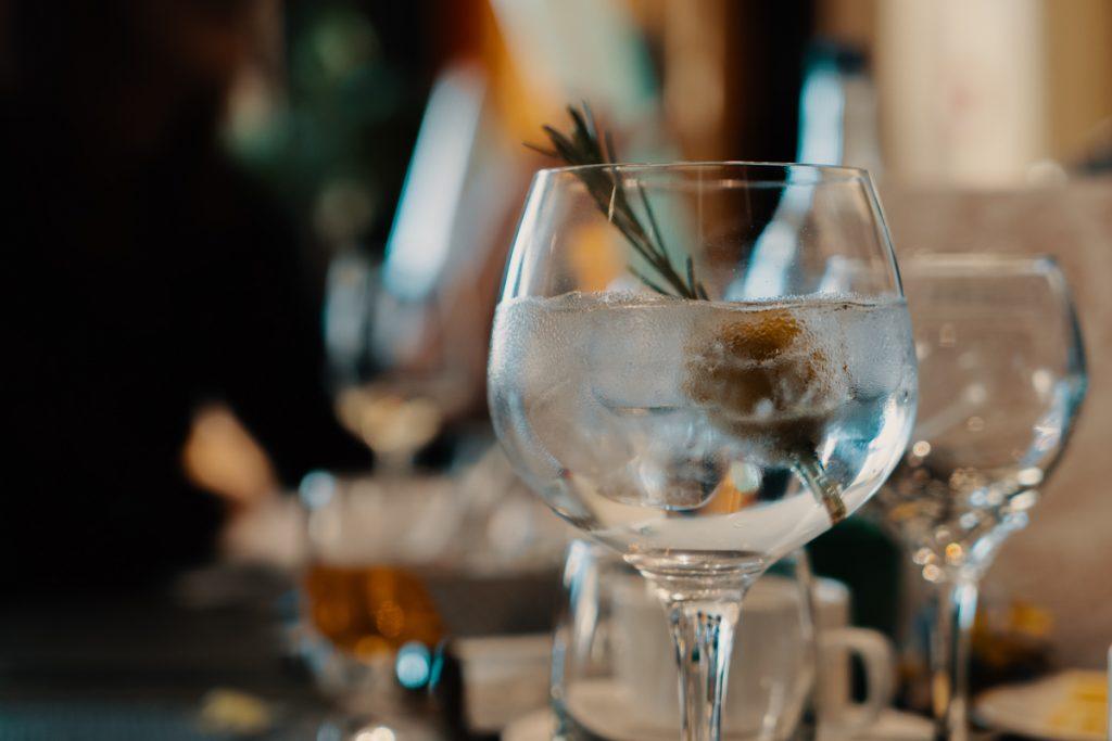 Gin tonic drankjes