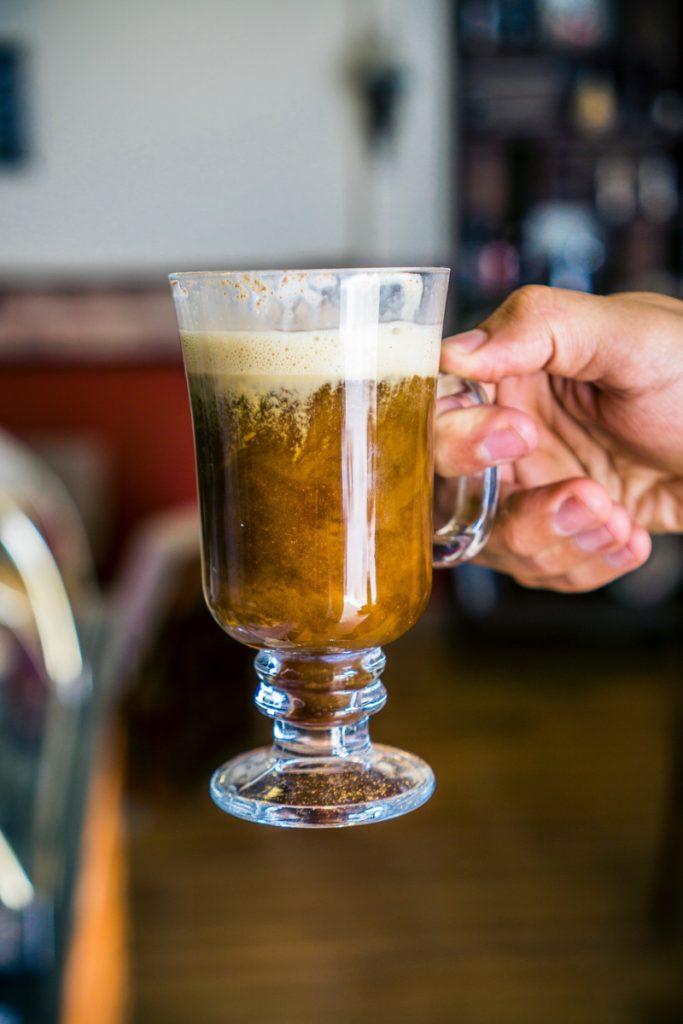 Koffie met whisky en room is typisch Iers