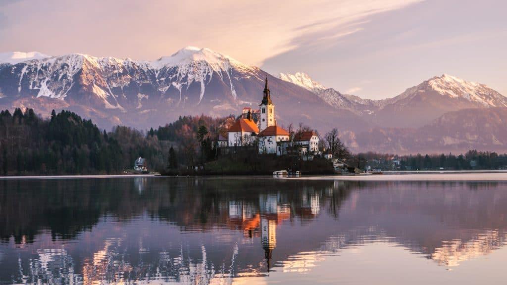Lake Bled is absoluut een van de mooiste meren van Europa!