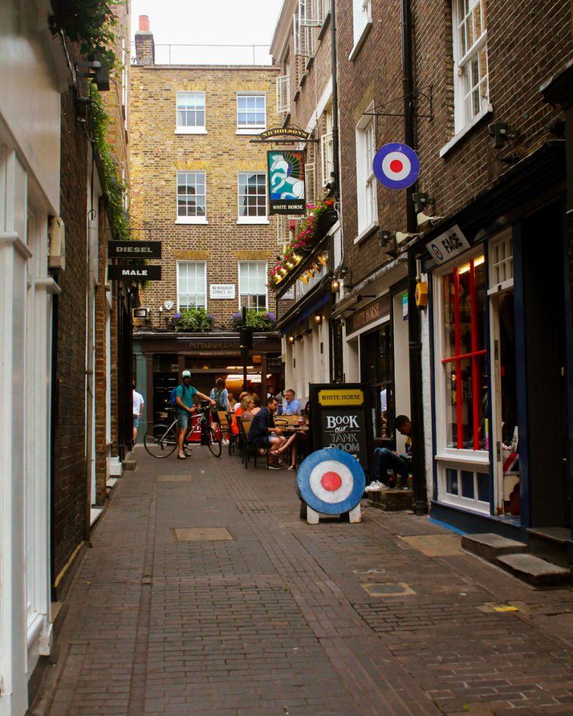 Een Engelse pub in Londen