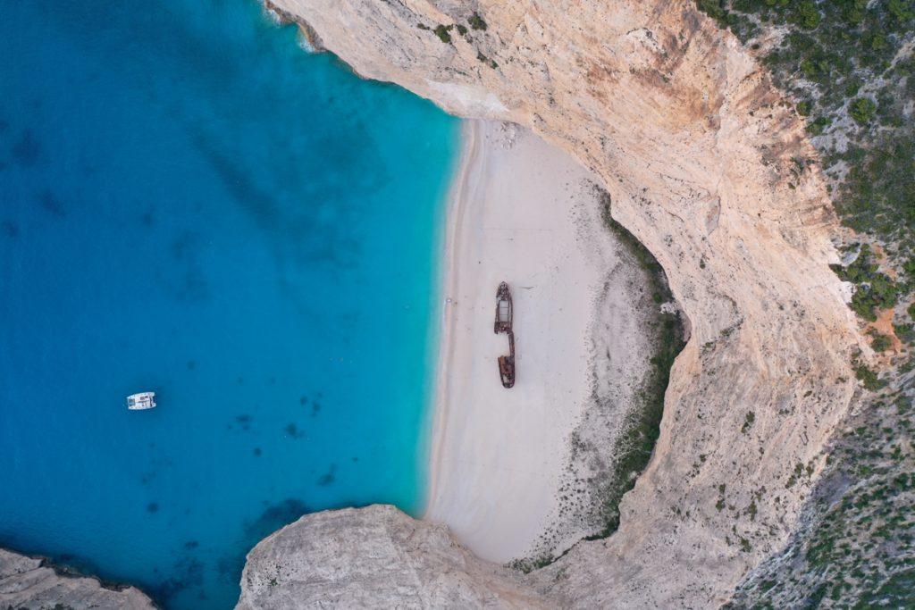 De stranden in Griekenland zijn over het algemeen erg mooi en schoon!