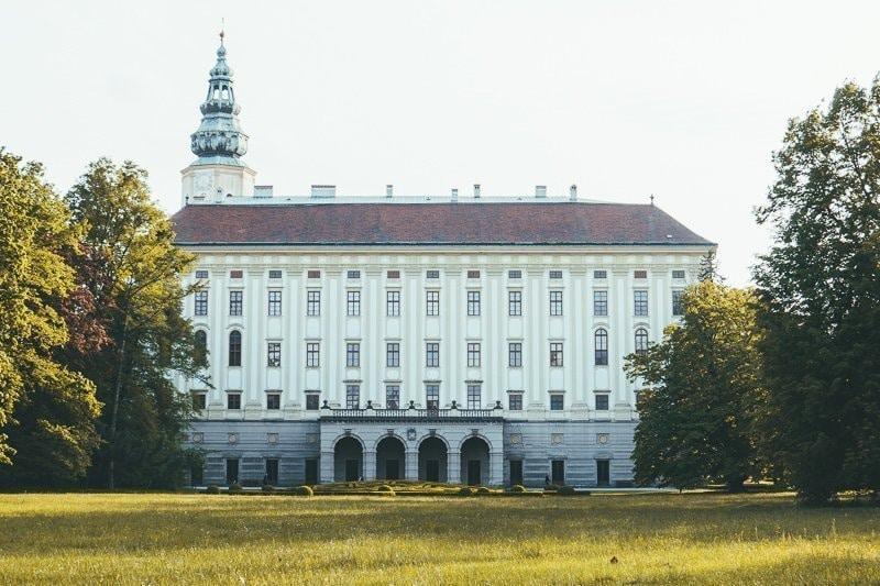 Kasteel in Kromeriz in Moravië