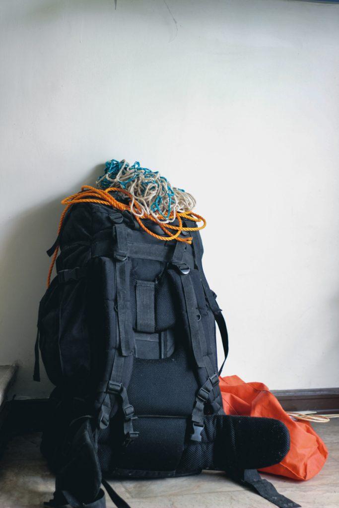 Een backpack inpakken
