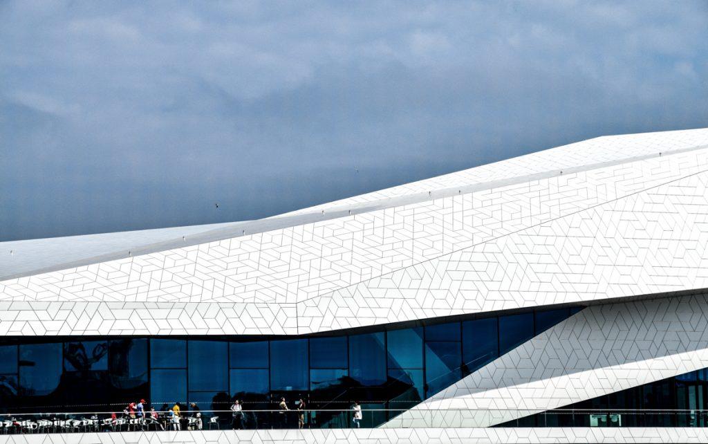 Het Filmmuseum EYE in Amsterdam is een mooi gebouw om te fotograferen