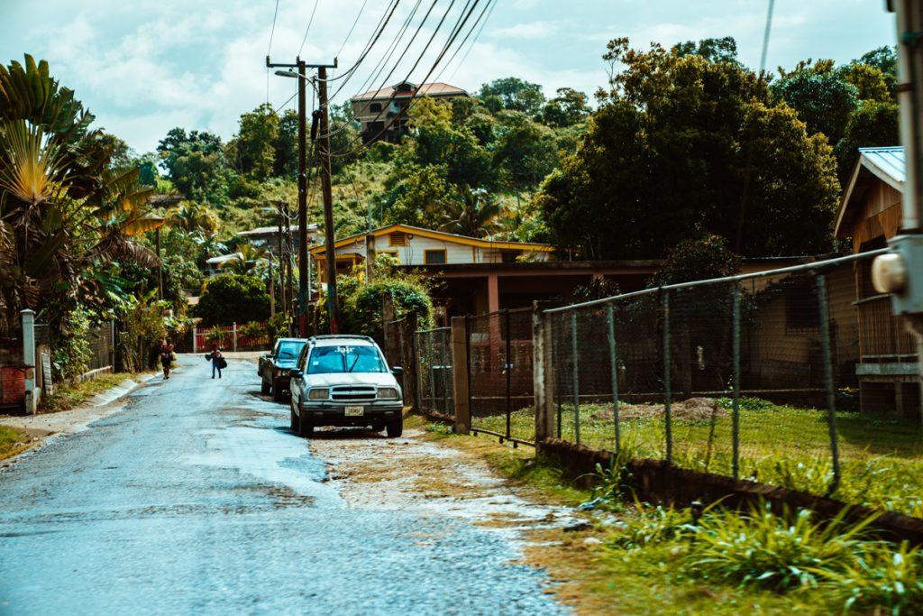 Het dorpje San Ignacio in Belize