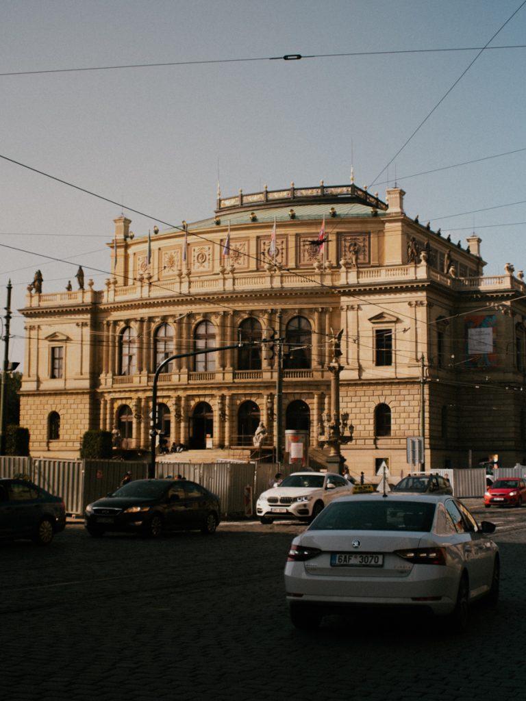 Het Nationaal Theater van Praag in Tsjechië