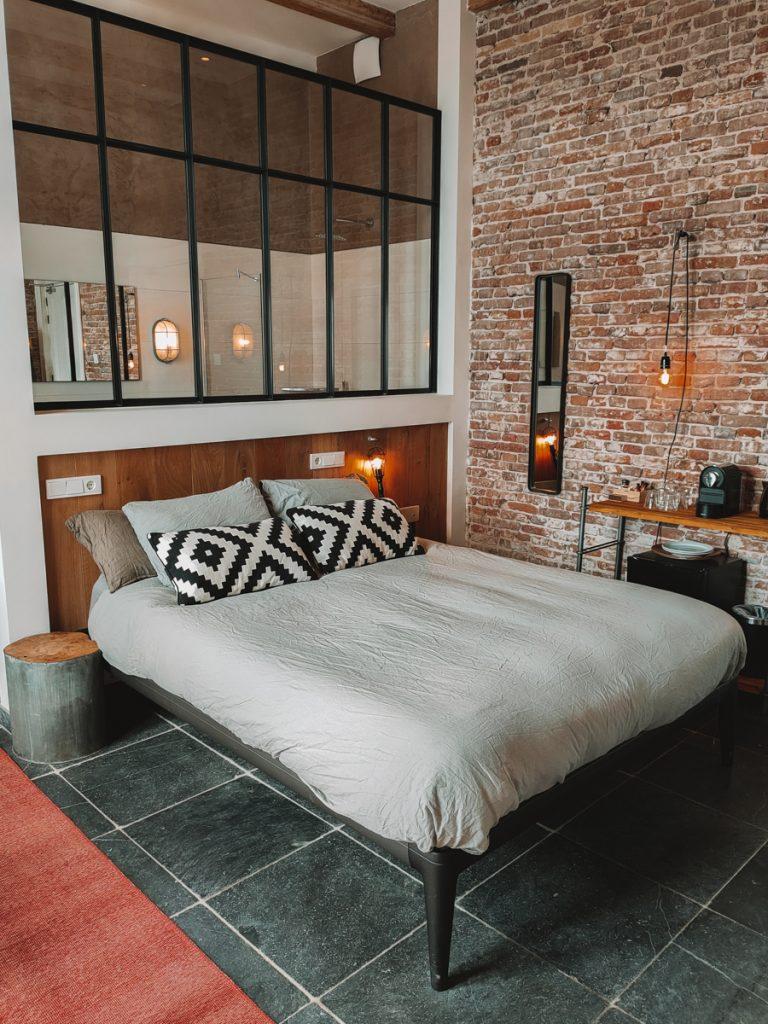 De prachtige Charme kamer van het Loods Hotel Vlieland