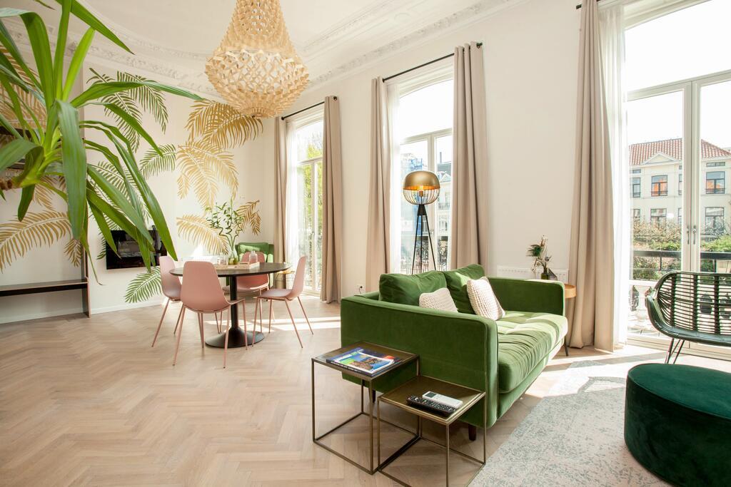 De prachtige kamer van het La Paulowna Boutique Hotel, een van de leukste boutique hotels van Den Haag