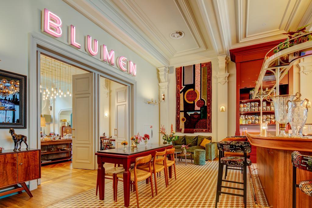 De prachtige bar van Hotel Mercier in Amsterdam