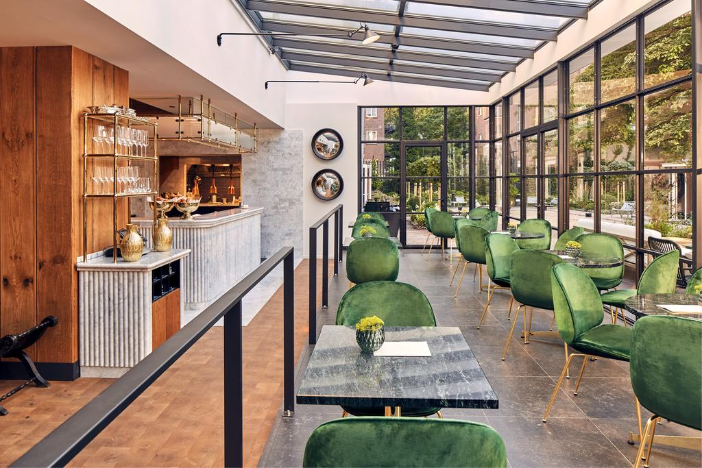 Het restaurant van het Pulitzer Hotel