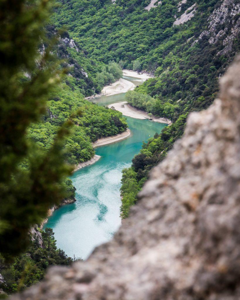 De uitzichten bij Gorges du Verdon zijn prachtig.