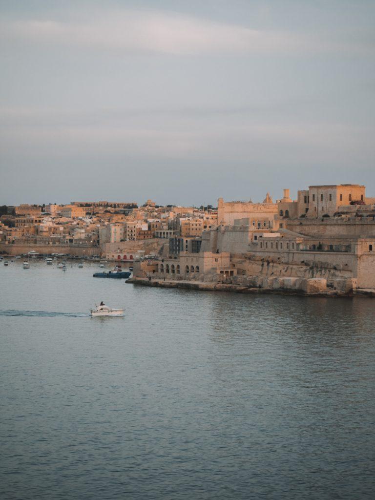 Uitzicht vanaf Valletta