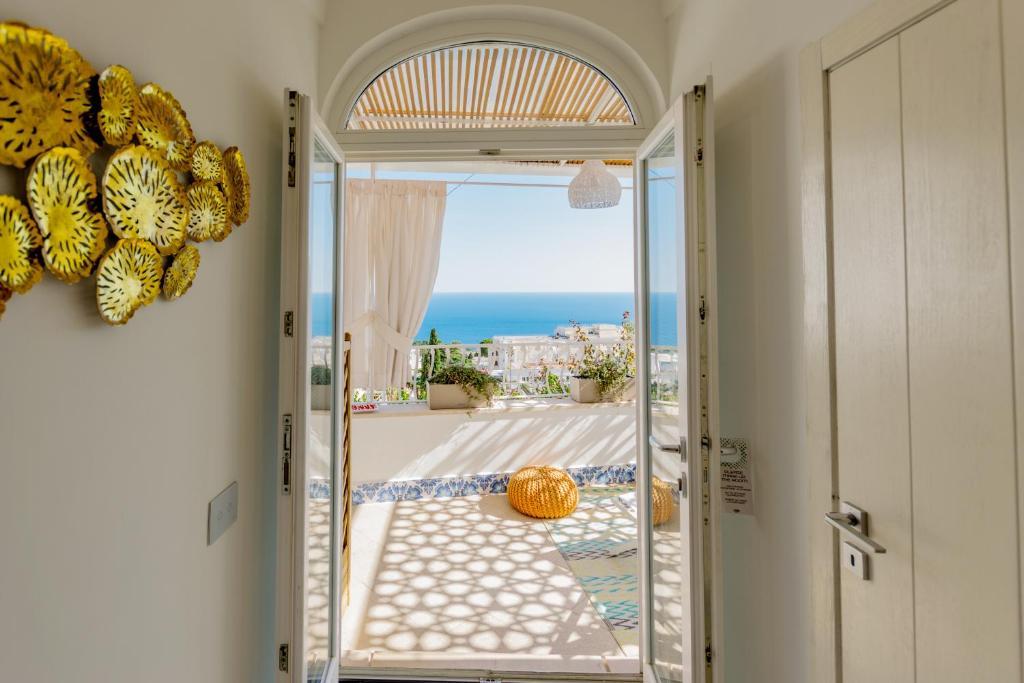 Een prachtig hotel op Capri met een waanzinnig uitzicht op zee