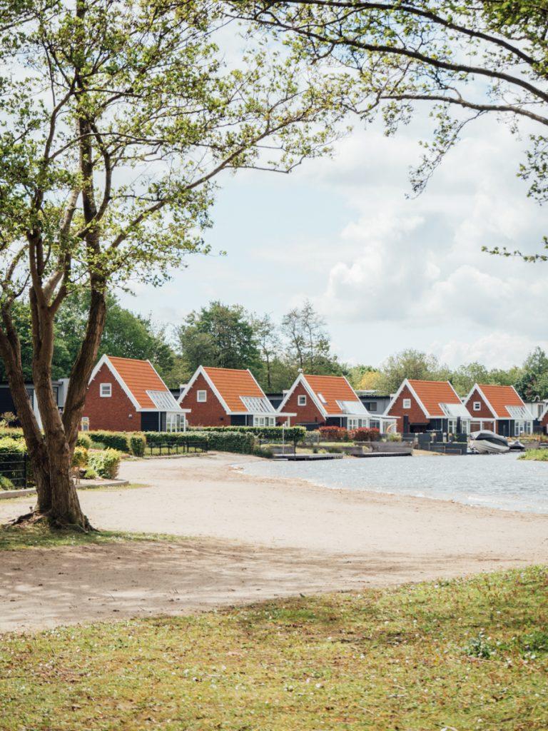 De strandvilla's van Bad Hoophuizen