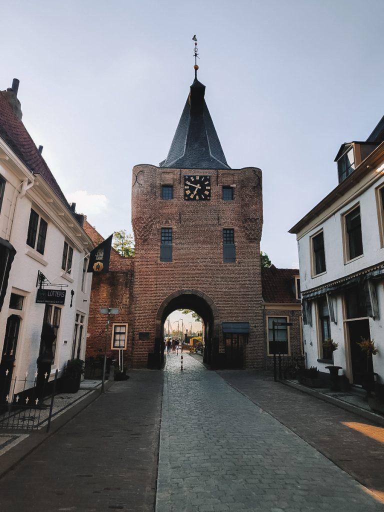 De gate van Elburg, een oud vestingstadje