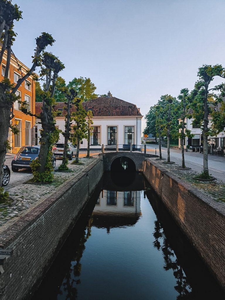 Het centrum van Elburg