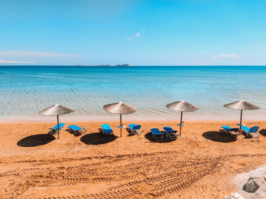 Xi Beach, het rode strand van Kefalonia