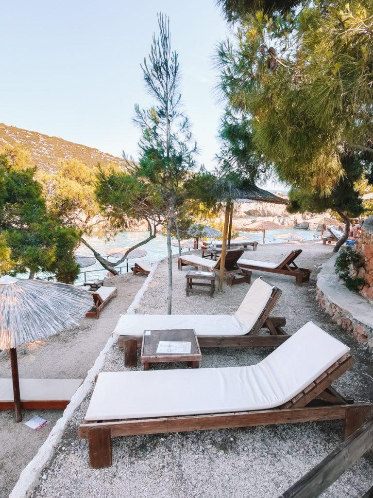 Limnionas Beach is een van de mooiste stranden van Zakynthos