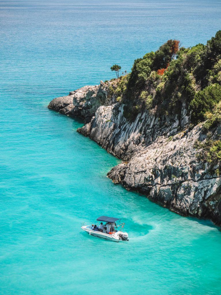 Xigia Beach is een van de mooiste strandjes en plekken van Zakynthos