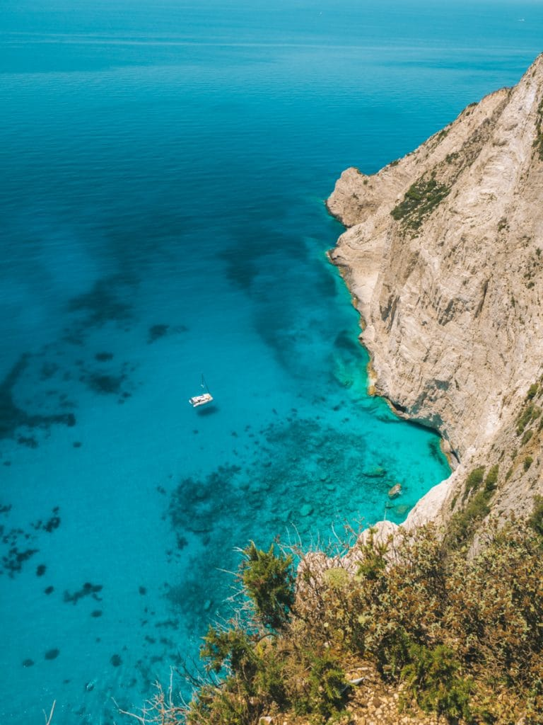 Navagio Beach is een van de mooiste stranden en plekken van Zakynthos