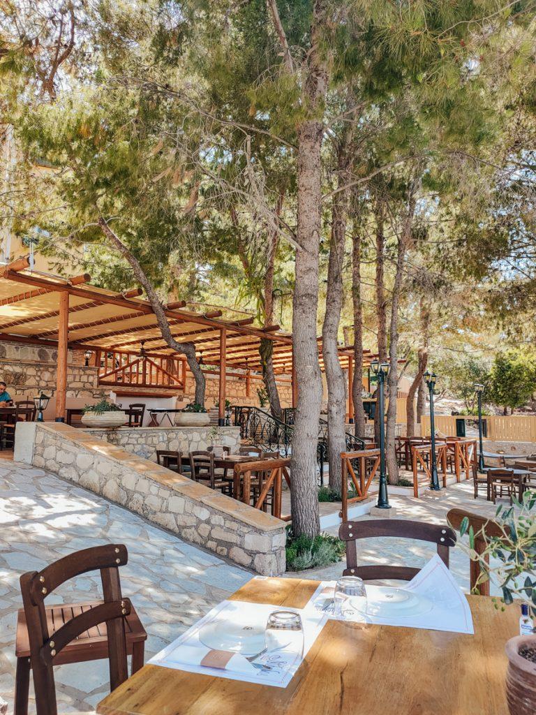Een van de beste en leukste restaurants van Nobelos