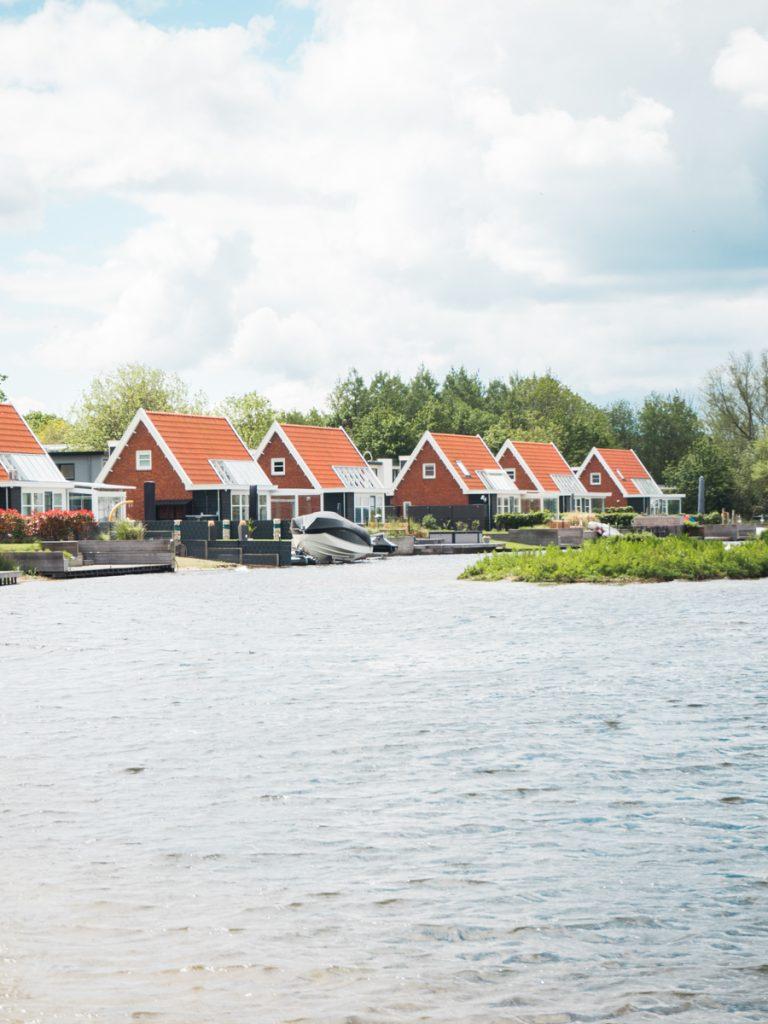 Een vakantiepark aan het Veluwemeer