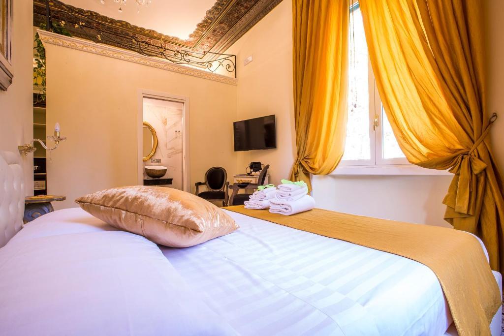 Trastevere Royal Suite Trilussa ligt in een van de leuke wijken om te verblijven in Rome